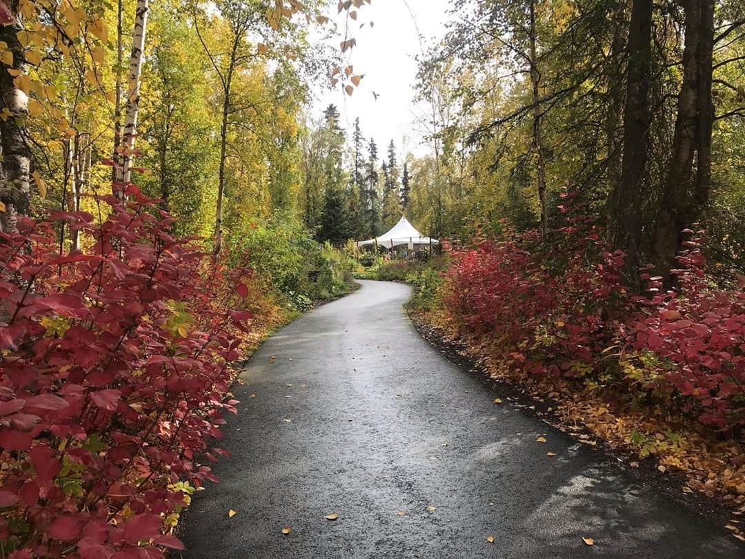 Botanical Garden Wedding Venues in Alaska