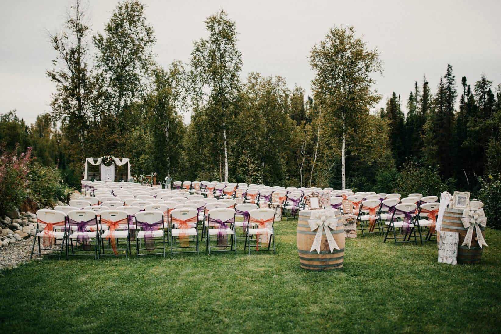 Creekside Lodge Wedding Venues in Alaska