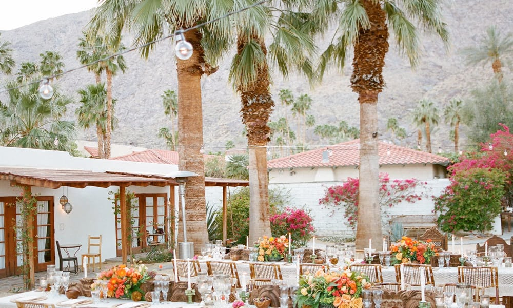 Korakia Pensione, Palm Springs Wedding Venues In California