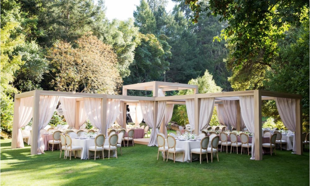 Meadowood Napa Valley Wedding Venues In California
