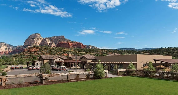 Seven Canyons Wedding Venues in Arizona