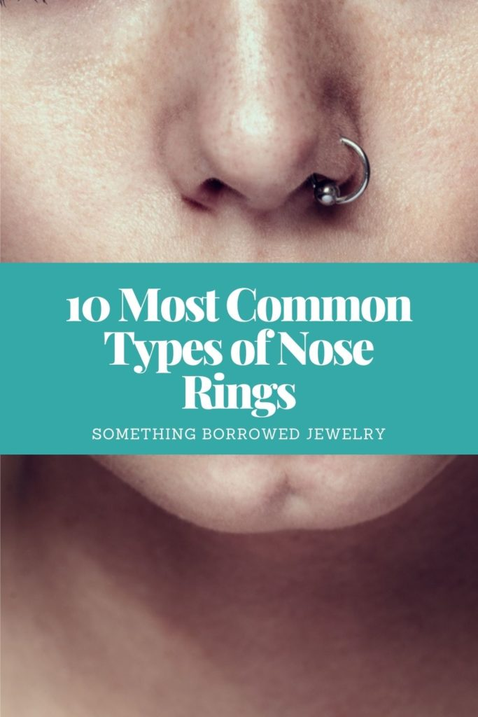 10 Most Common Types of Nose Rings 2