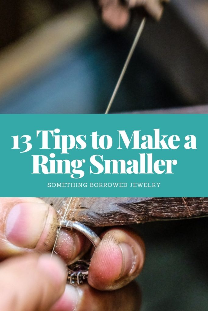 13 Tips to Make a Ring Smaller 1