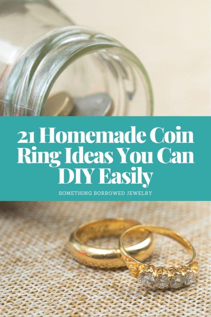 21 Homemade Coin Ring Ideas You Can DIY Easily 1
