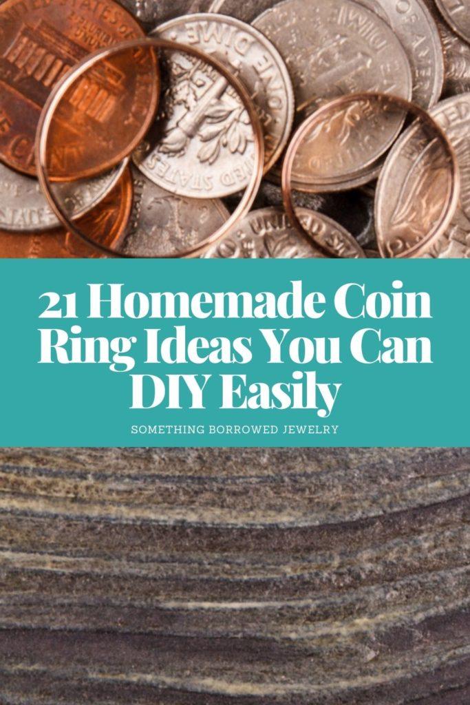 21 Homemade Coin Ring Ideas You Can DIY Easily 2