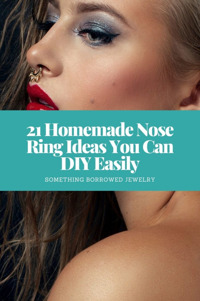 21 Homemade Nose Ring Ideas You Can DIY Easily 2