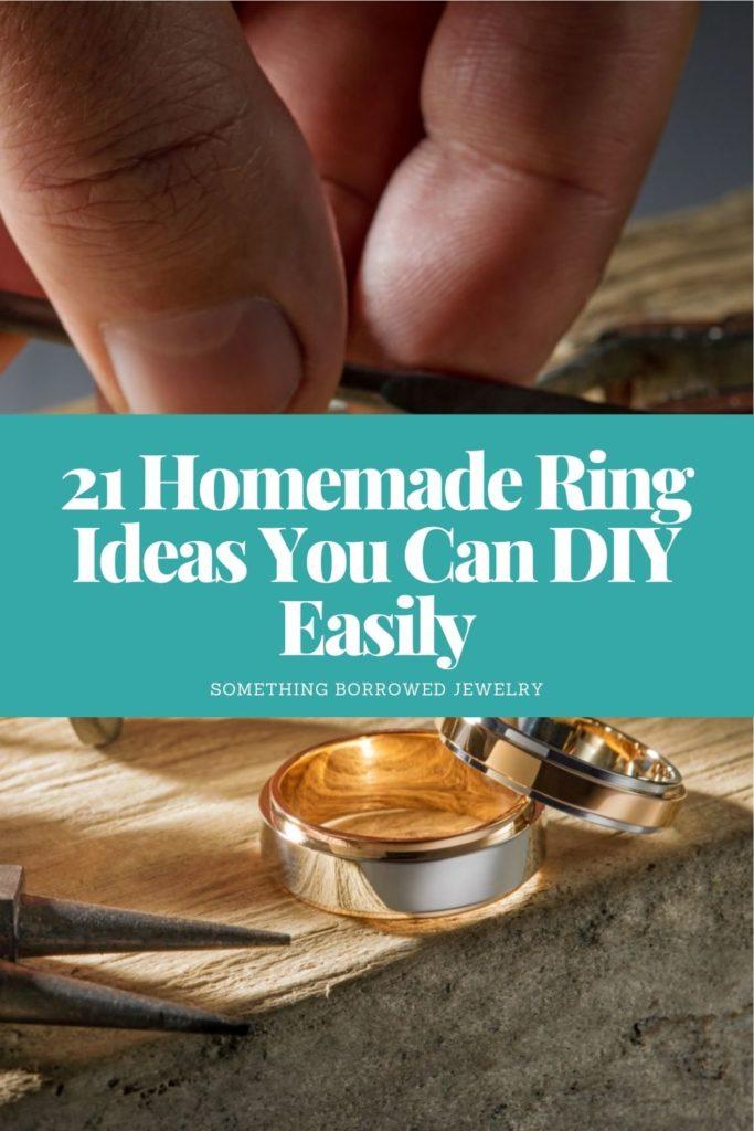 21 Homemade Ring Ideas You Can DIY Easily 1