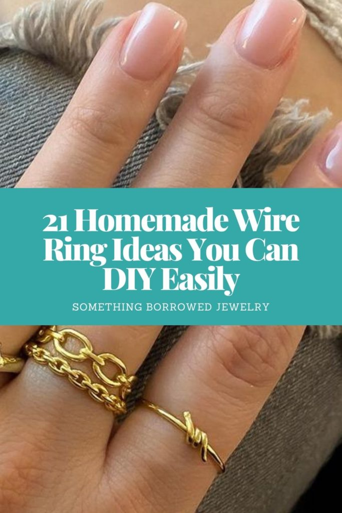 21 Homemade Wire Ring Ideas You Can DIY Easily 1