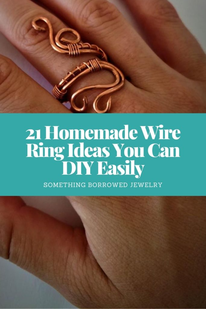 21 Homemade Wire Ring Ideas You Can DIY Easily 2