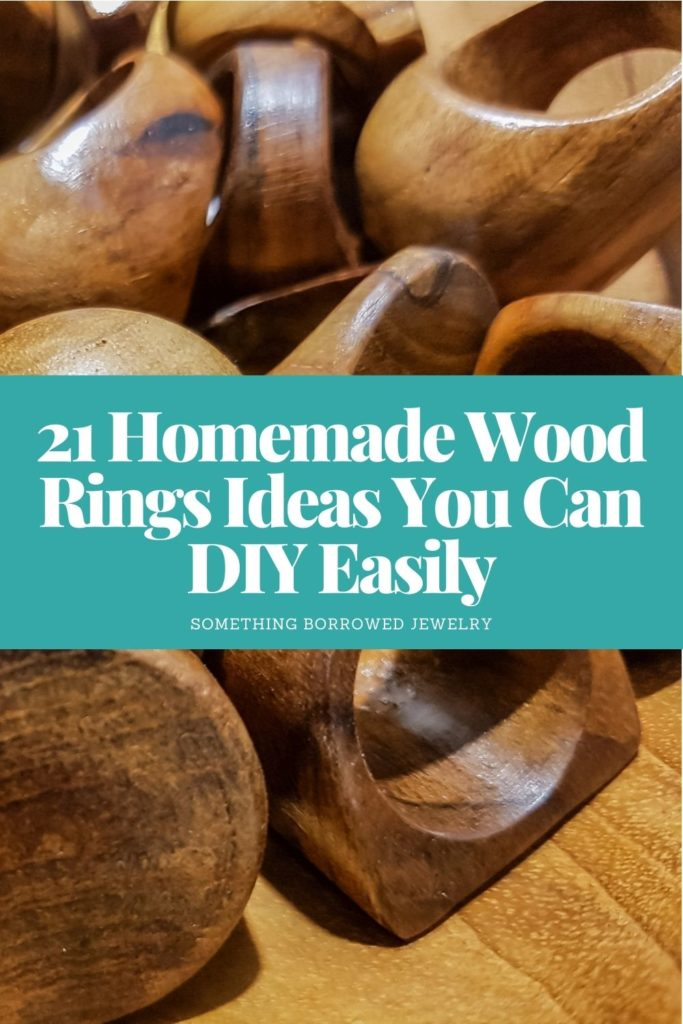 21 Homemade Wood Rings Ideas You Can DIY Easily 1