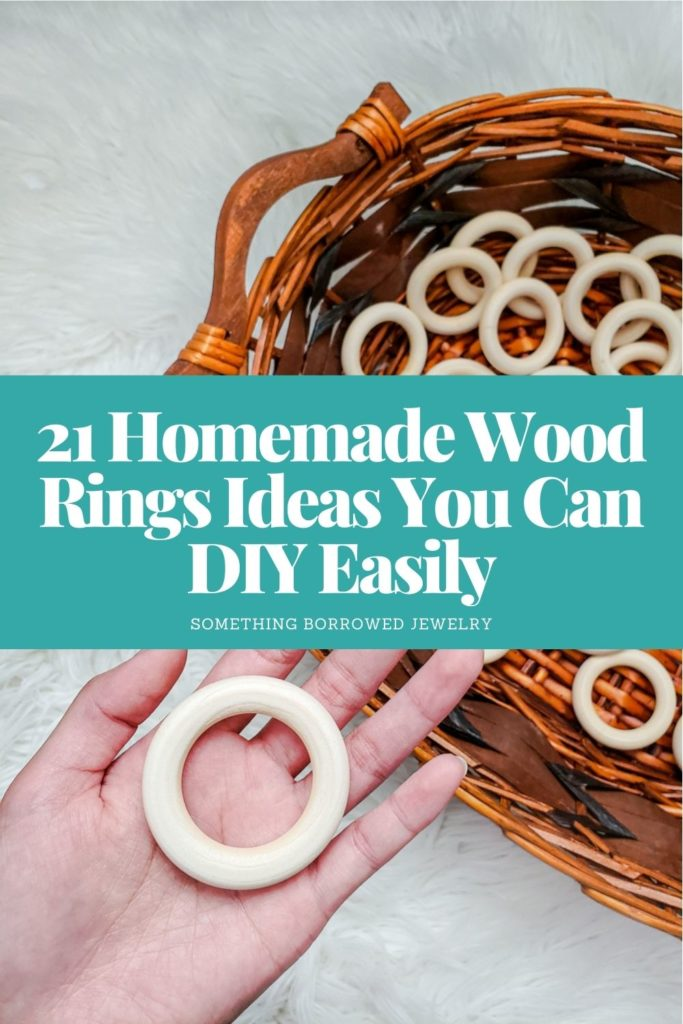 21 Homemade Wood Rings Ideas You Can DIY Easily 2