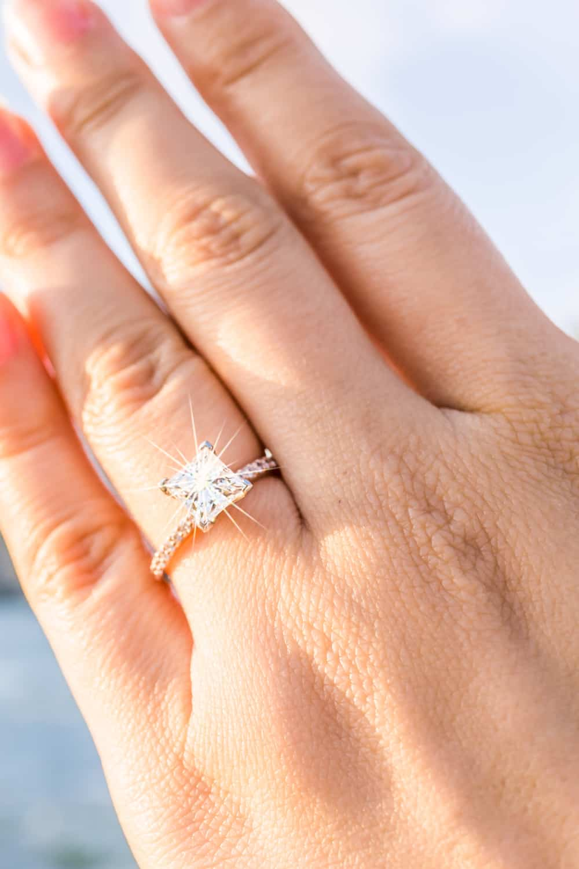 Average Price for 1-Carat Diamond