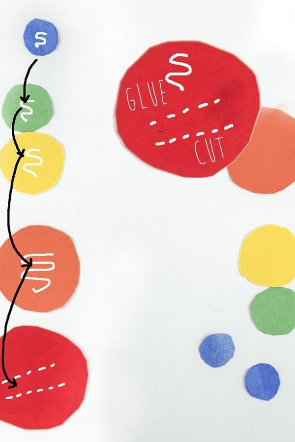 DIY Paper Rainbow Rings