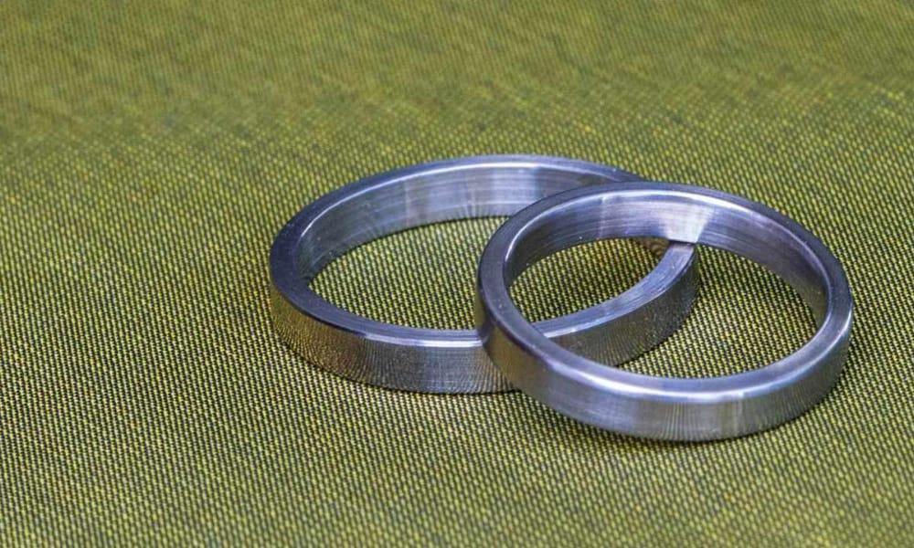 DIY Stainless-Steel Wedding Rings