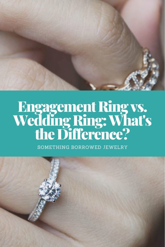 Engagement Ring vs. Wedding Ring What's the Difference 2