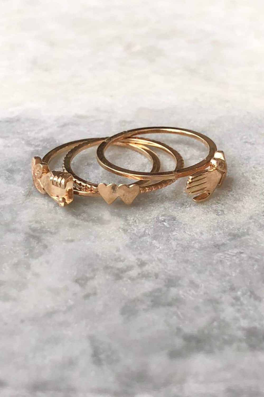 Gimmel rings