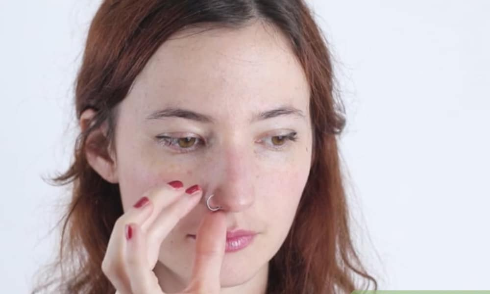 How to Make a Fake Nose Piercing