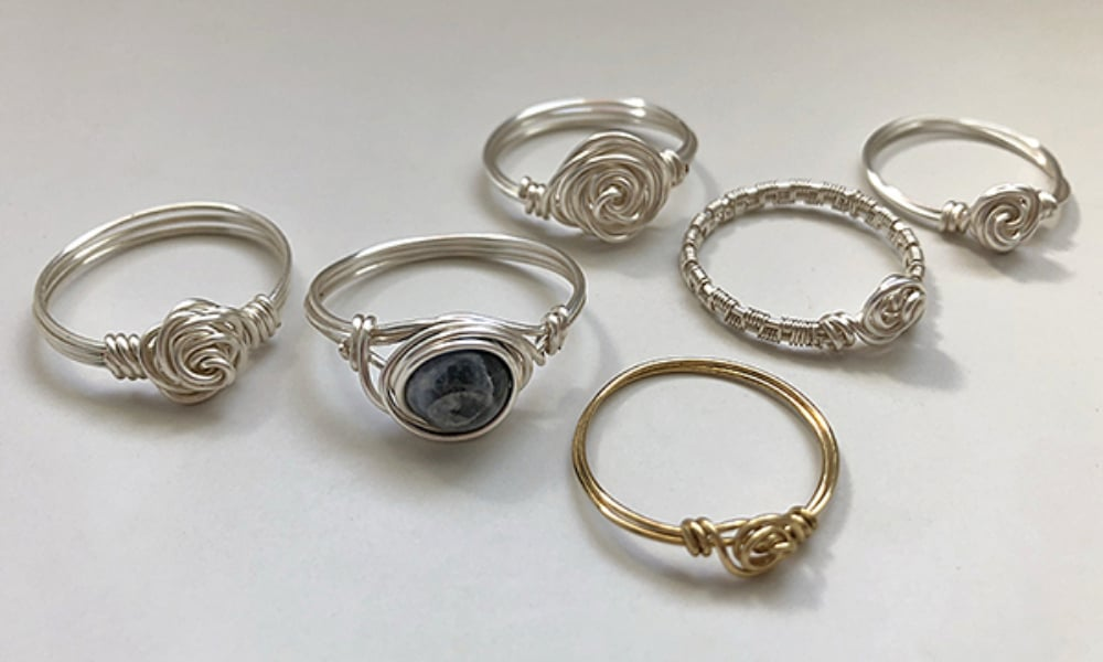 How to Make a Rose Ring Using Craft Wire