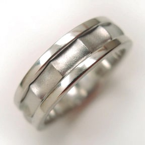 How to Make a Three-Part Silver Ring