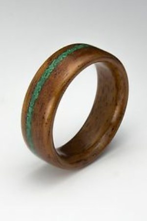 How to Make a Wooden Ring at Home