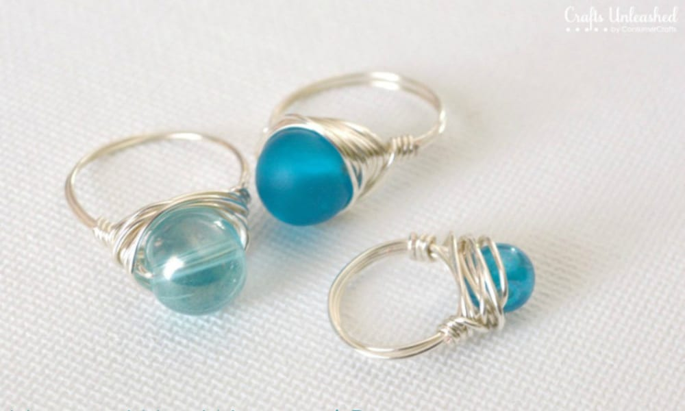 How-to Wrapped Wire Rings 1