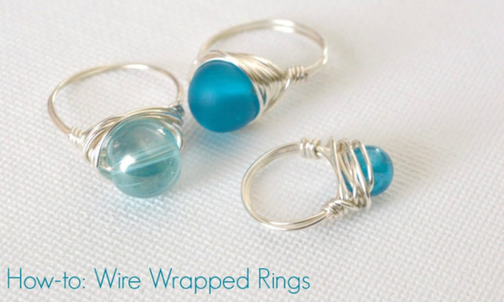 How-to Wrapped Wire Rings
