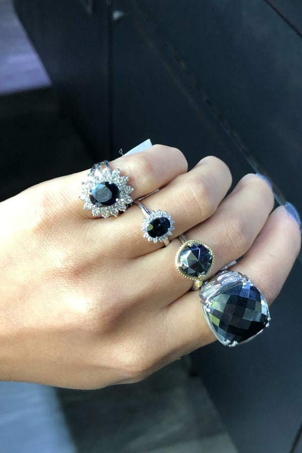 Matching Different Stone Rings