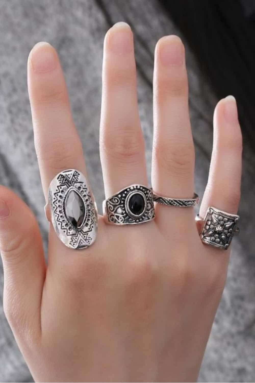 Midi Ring Shapes and Styles
