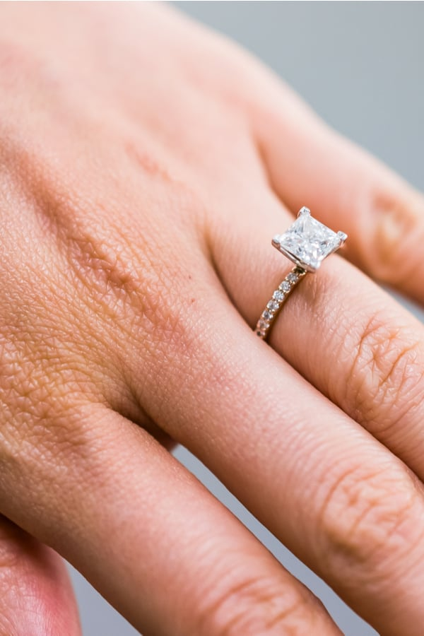 Princess Engagement Ring