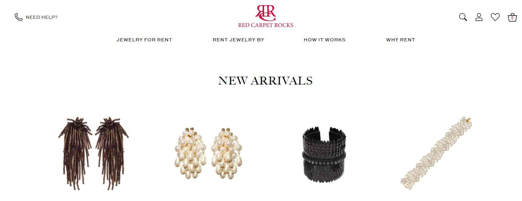 Red Carpet Rocks Jewelry Rental
