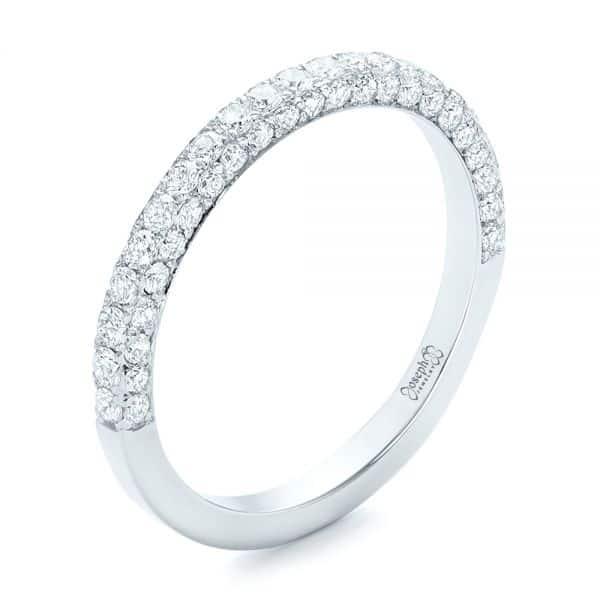 The Pavé Wedding Ring