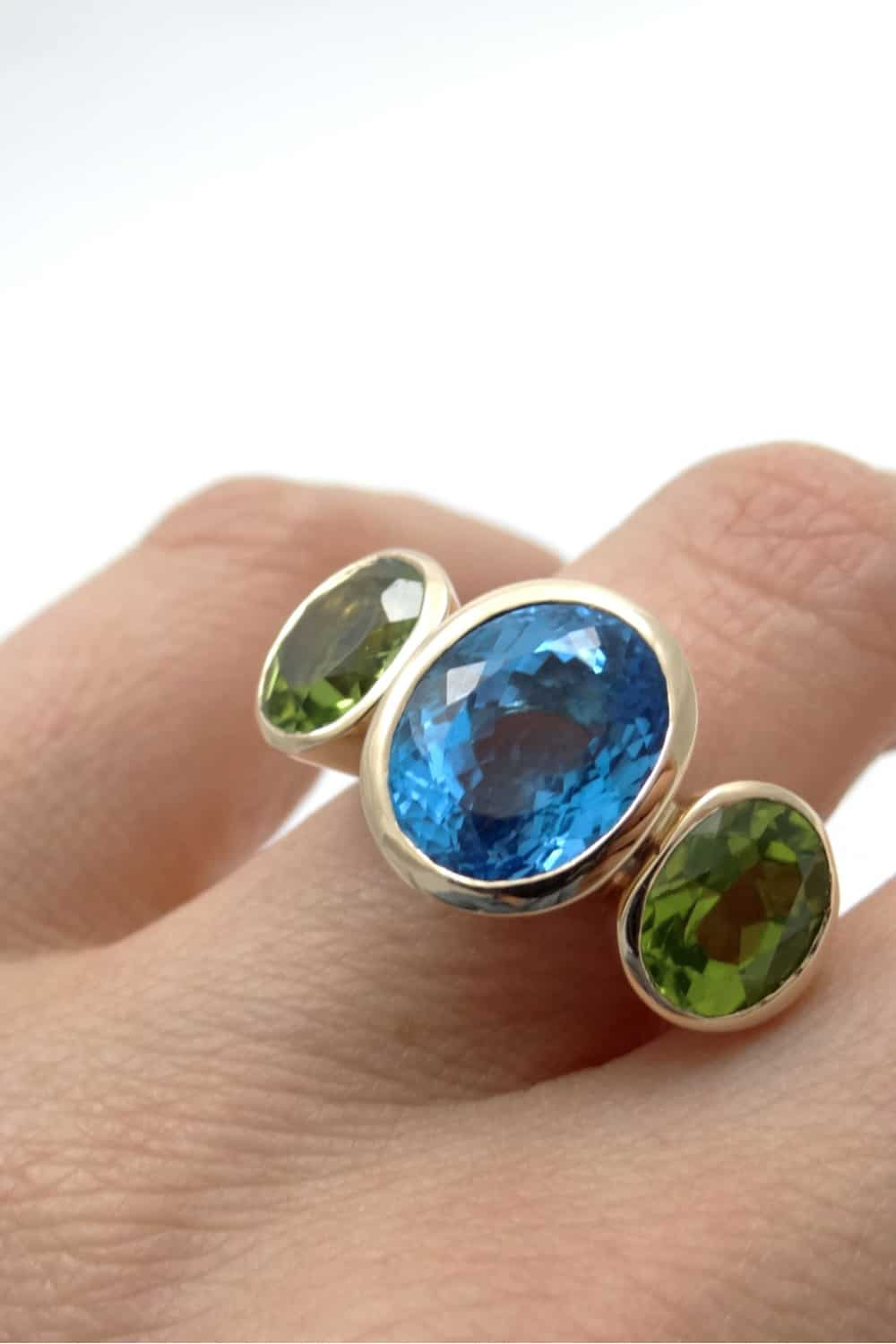 Three-stone Rings are Special