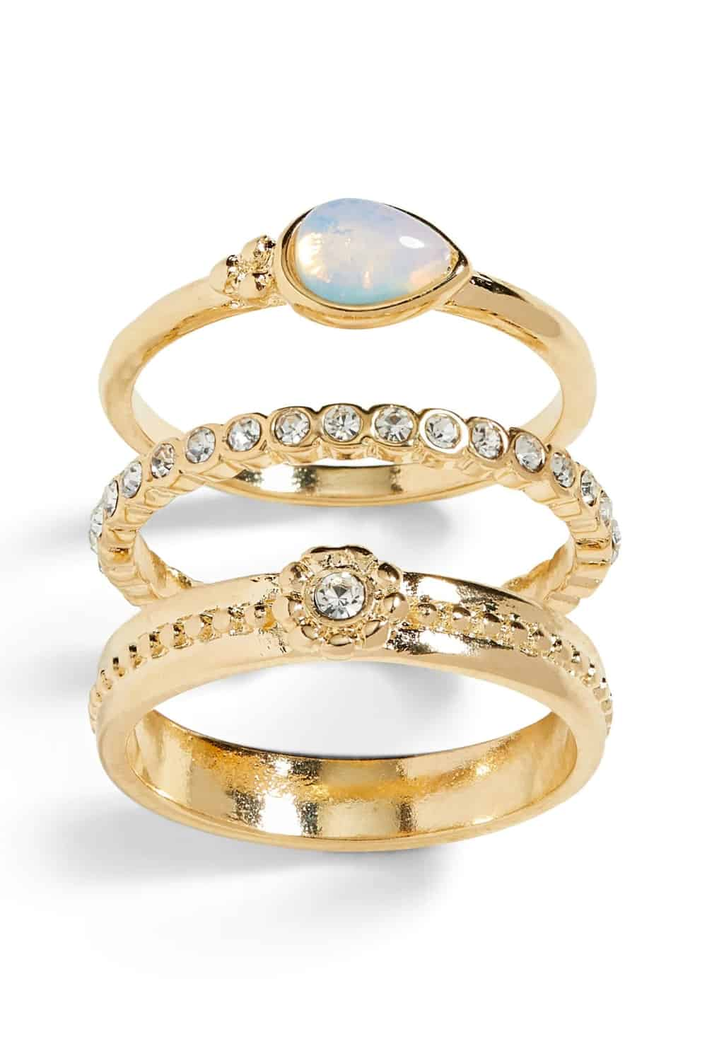 Trio Rings are Special Too