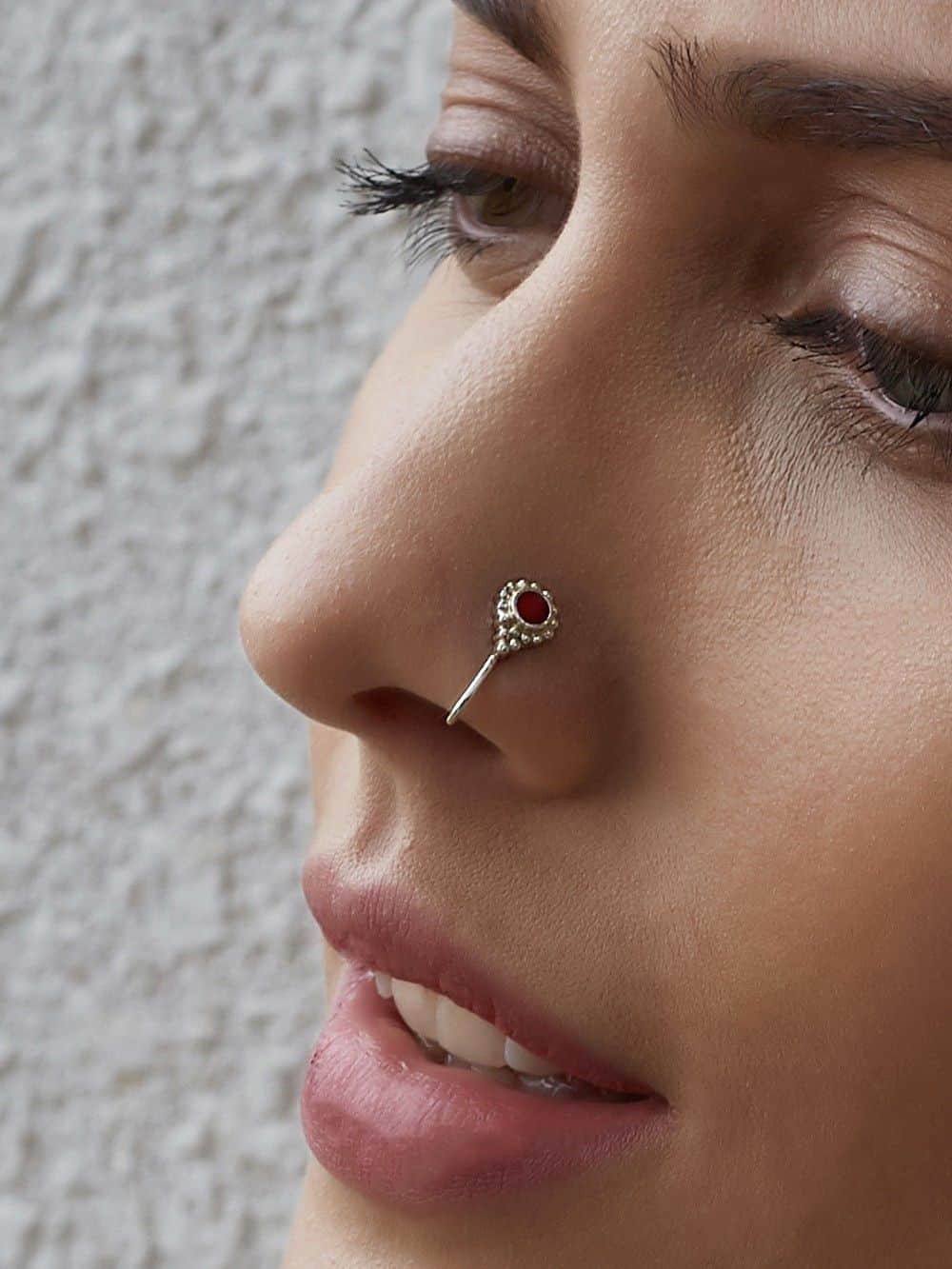 Types of Nostrils Piercing Jewelry
