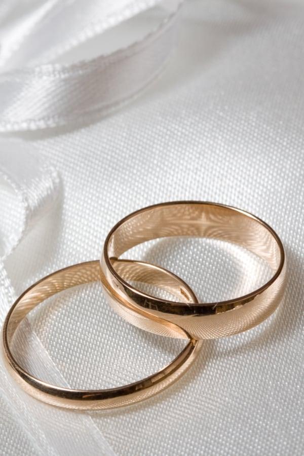 Wedding Rings Aren't Christian