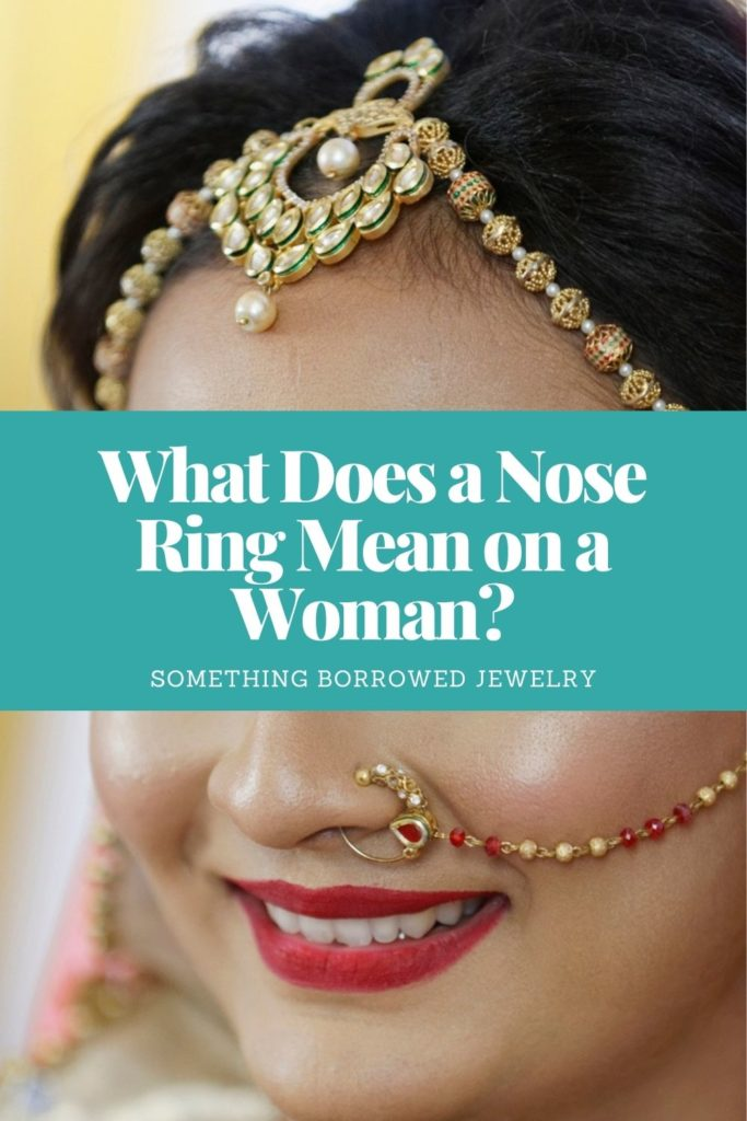 What Does a Nose Ring Mean on a Woman 2