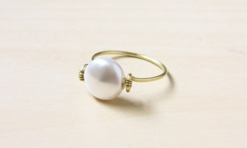 Wire Wrapped Ring DIY