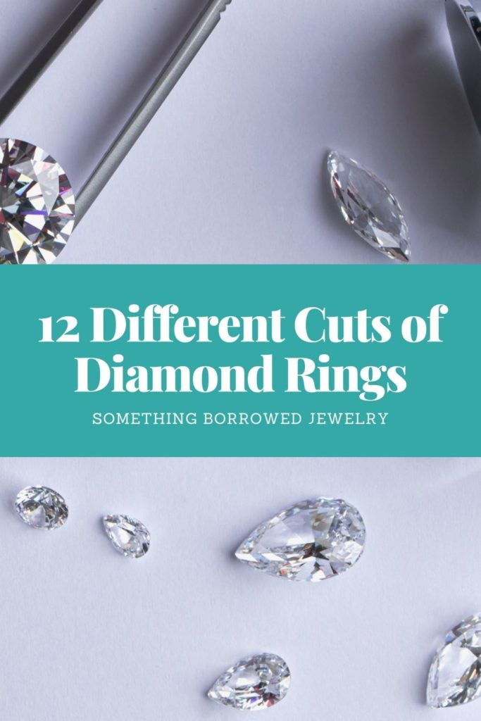 12 Different Cuts of Diamond Rings 2
