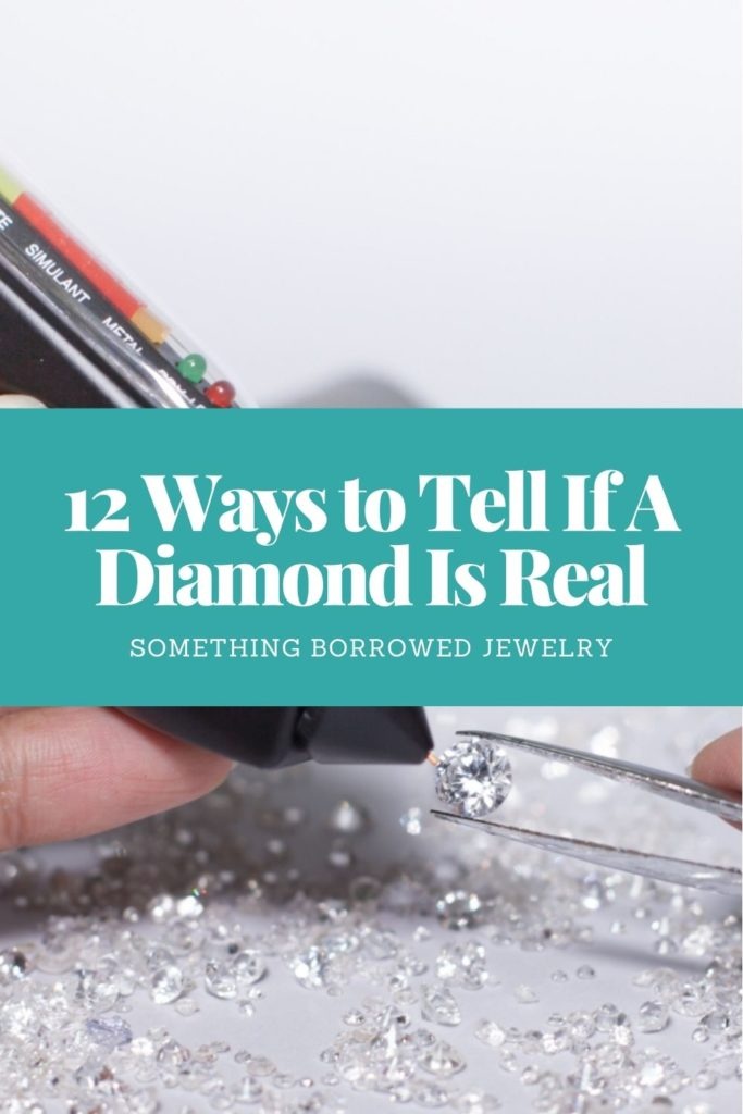 12 Ways to Tell If A Diamond Is Real 1