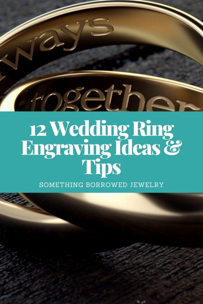 12 Wedding Ring Engraving Ideas & Tips 1
