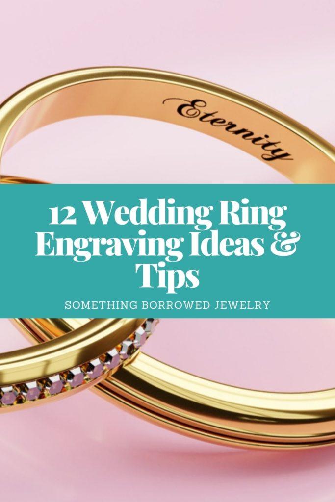 12 Wedding Ring Engraving Ideas & Tips 2