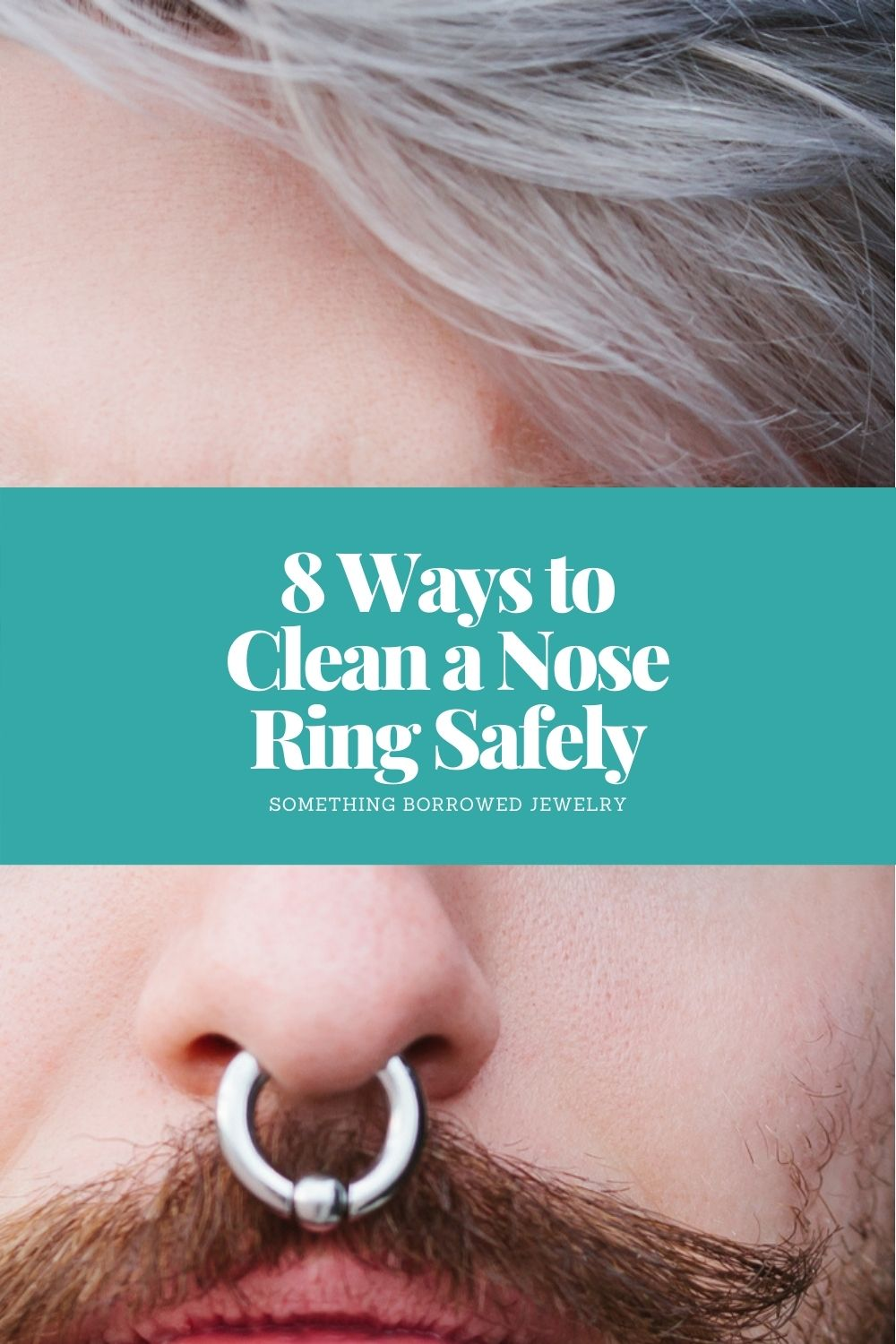 8 Ways to Clean a Nose Ring Safely pin