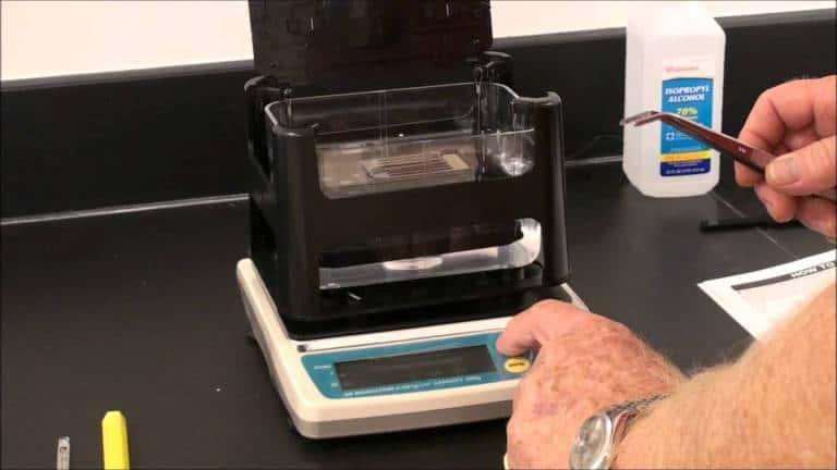 Gold Density Test
