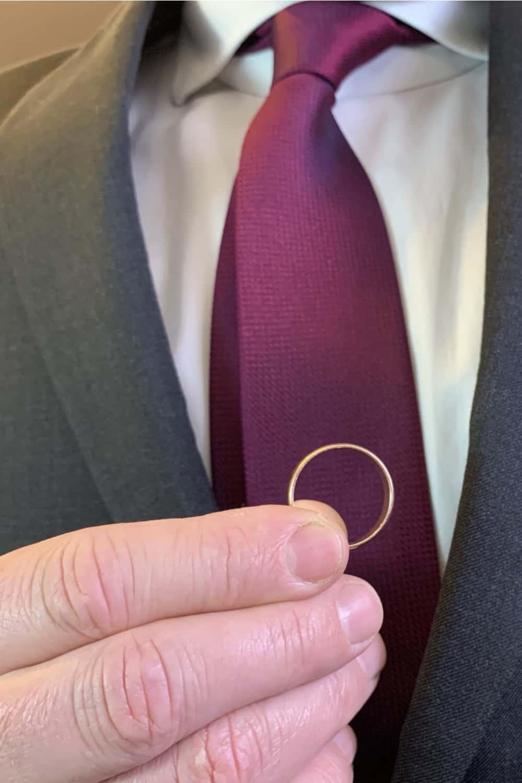 Promise ring for men