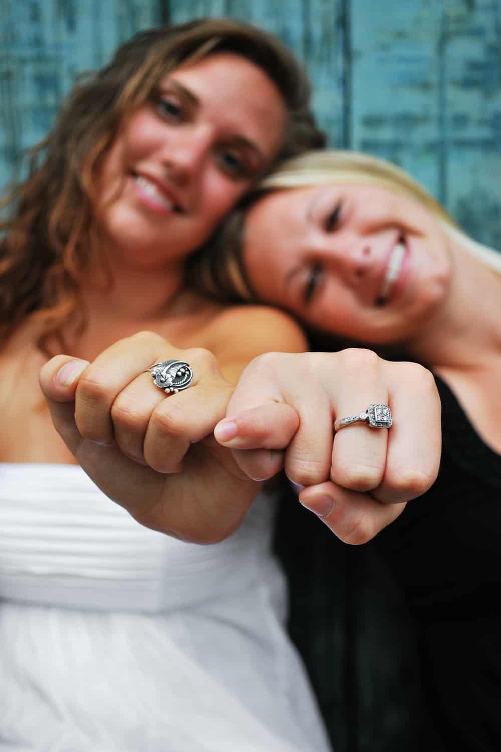 Promise rings for same-sex couples