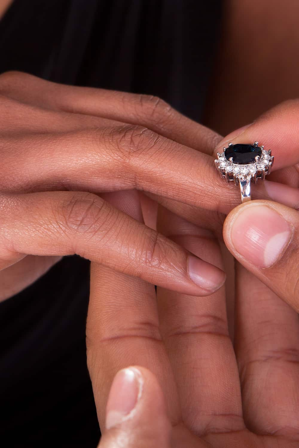 Where Does the Engagement Ring Stay After Marriage