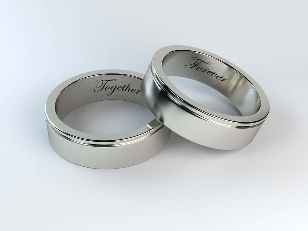 wedding bands engraving ideas