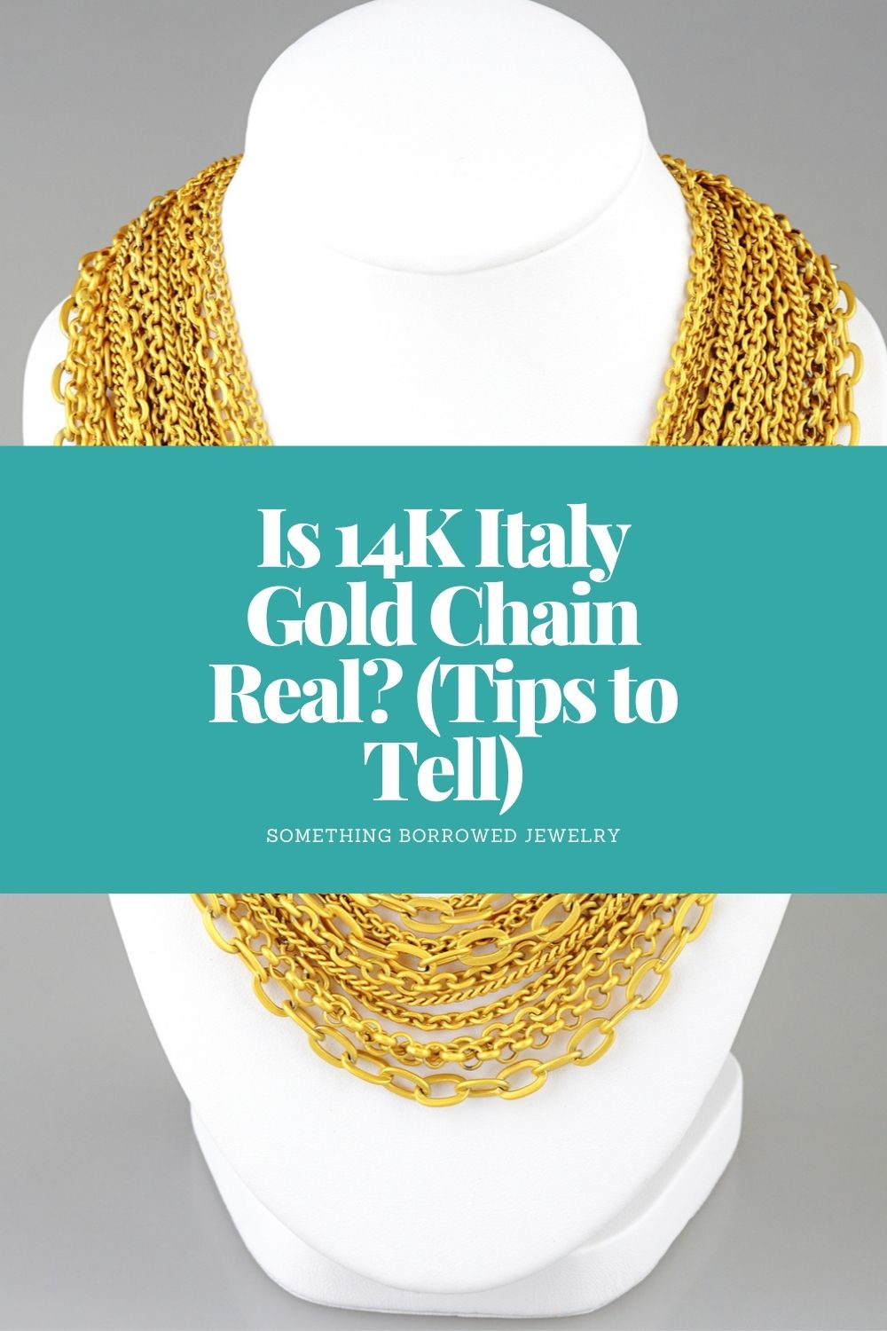 Is 14K Italy Gold Chain Real (Tips to Tell) pin