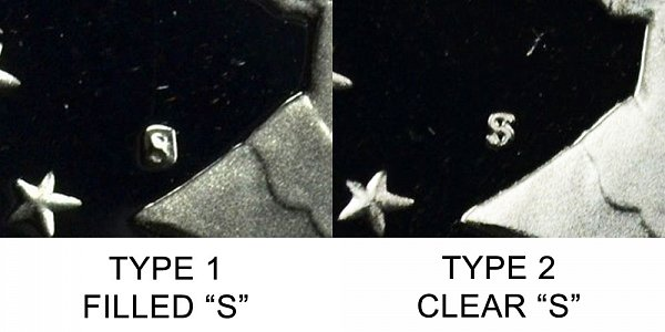 1979-type-1-filled-s-vs-type-2-clear-s-susan-b-anthony-dollar