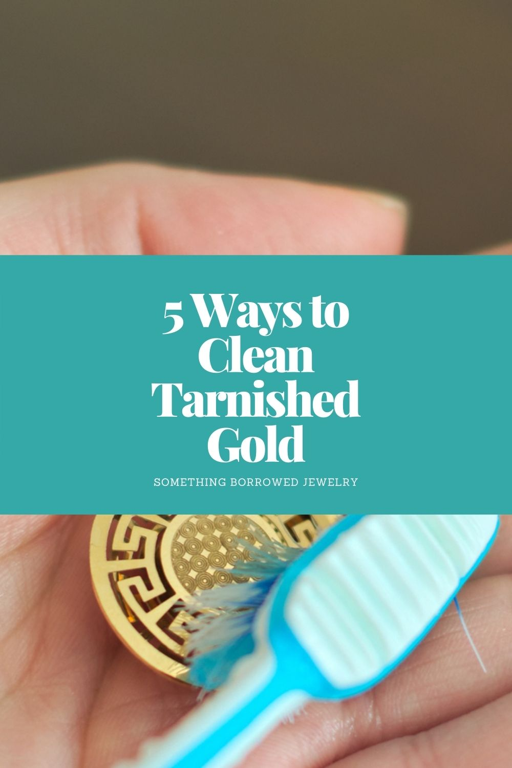 5 Ways to Clean Tarnished Gold pin 2